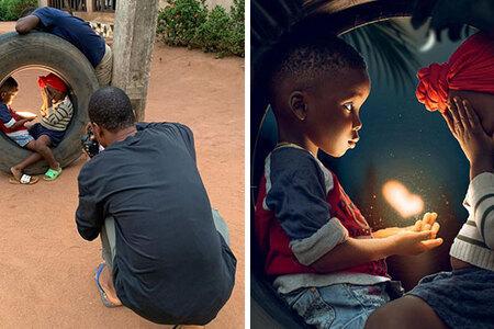 Nigérijský fotograf odhaľuje pravdu za svojimi fotografiami