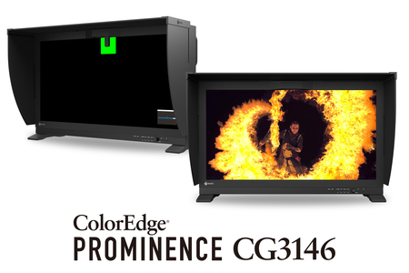 Referenční HDR monitor ColorEdge PROMINENCE CG3146 oceněn