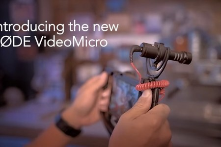 Introducing the RØDE VideoMicro