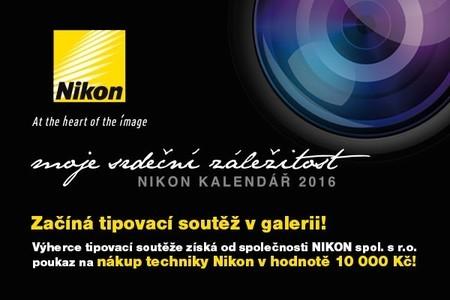 Tipovací soutěž NIKON KALENDÁŘ 2016
