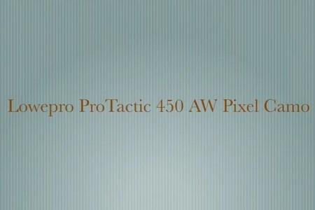 Lowepro ProTactic 450 AW Pixel Camo