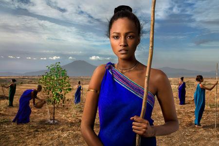"""Calendar Lavazza 2015 alebo """"10.000 záhrad v Afrike"""""""