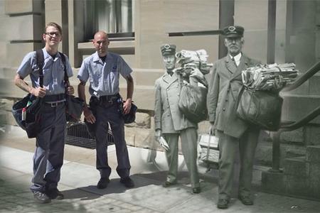 Mesto včera a dnes