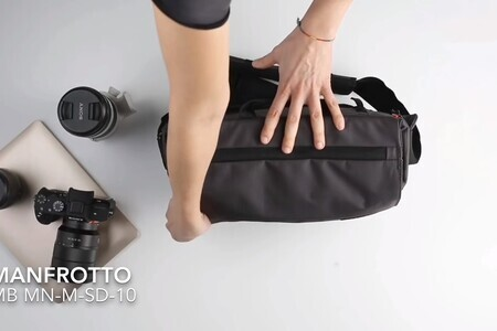 Manfrotto Manhattan Speedy 10 Messenger - Not like every other m