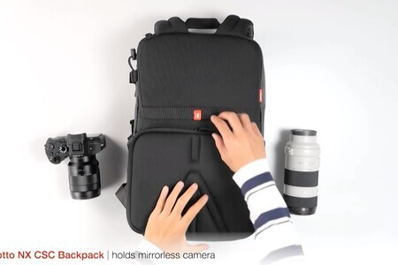 Discover the NX CSC Backpack by Manfrotto: tutorial and features