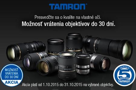 Presvedčte sa o kvalite objektívov Tamron
