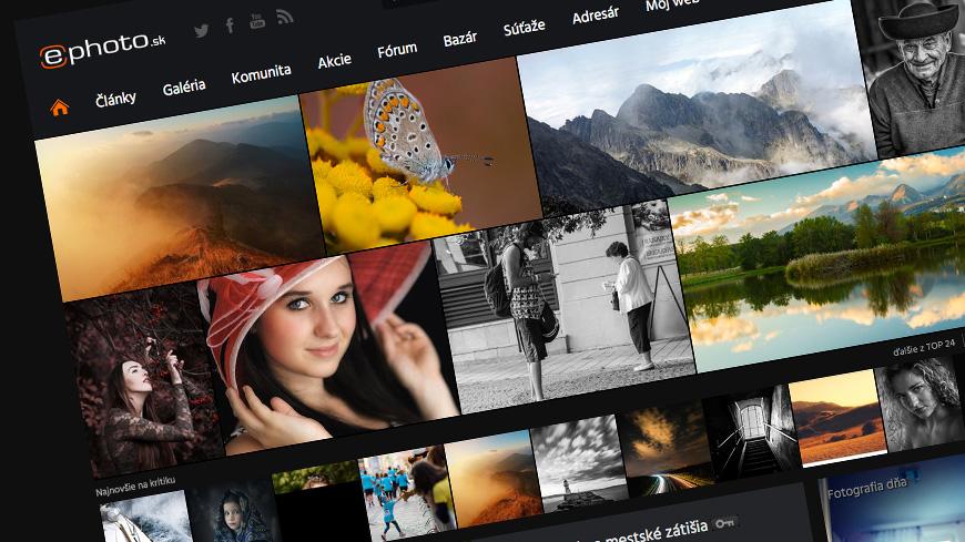 Kritéria hodnotenia fotografií v galérii ePhoto