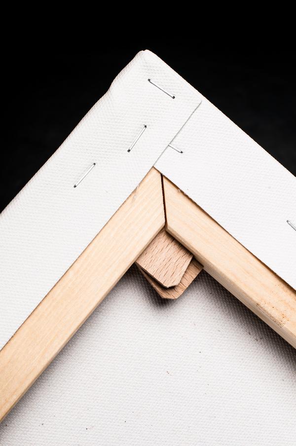 obraz na plátne - borovicový blind rám