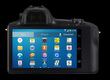Prvý fotoaparát s výmennými objektívmi a Androidom