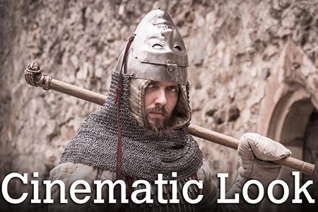 Cinematic Look v Lightroome 5