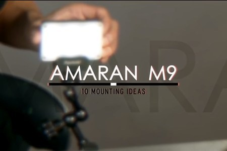 10 Ways To Mount The Aputure Amaran M9