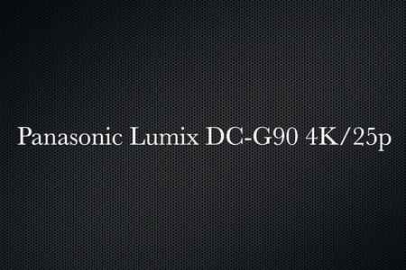 Panasonic Lumix DC-G90 4K/25p