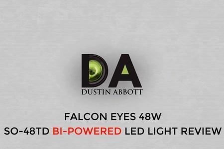 Falcon Eyes SO-48TD Bi-Powered LED Light Review | 4K