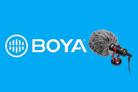 BOYA mikrofóny