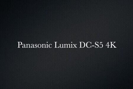 Panasonic Lumix DC S5 4K