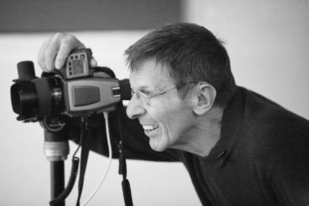 Leonard Nimoy ako vášnivý fotograf