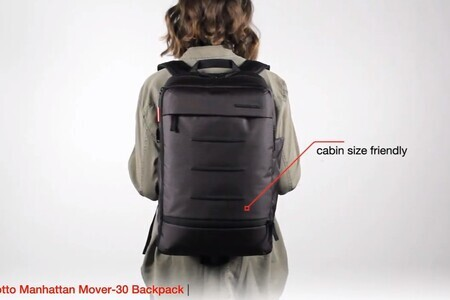 Manfrotto Manhattan Mover-30 Backpack for DSLR/CSC - Big capacit