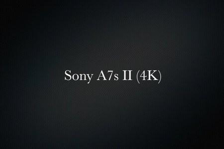 Sony A7s II (4K)
