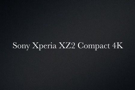 Sony Xperia XZ2 Compact 4K