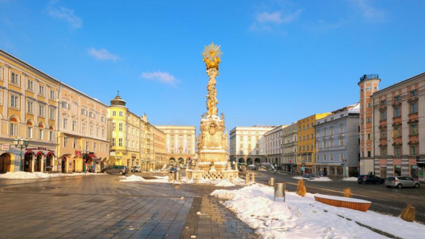 Advent v Linzi na Dunaji
