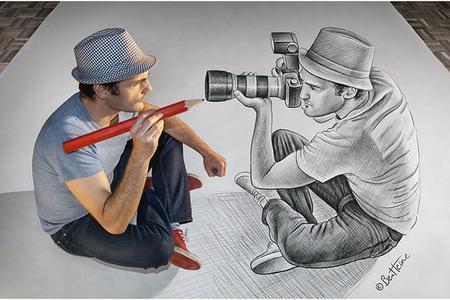Ceruzka vs. fotoaparát