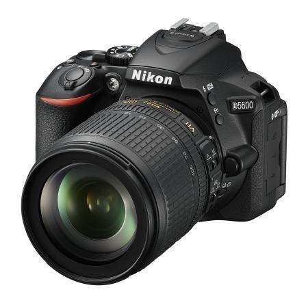 Naštartujte svoju kreativitu s úplne novým, neustále pripojeným fotoaparátom D5600