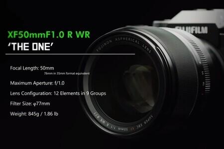 FUJINON XF50mmF1.0 R WR Promotional Video/ FUJIFILM