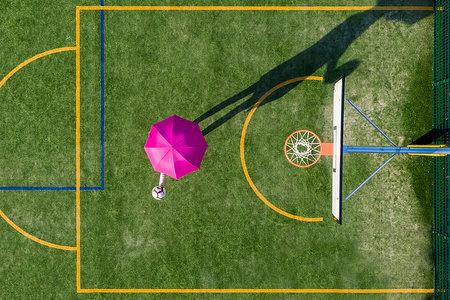 Kreatívne fotenie s daždnikom