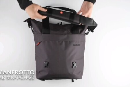 Manfrotto Manhattan 3-Way Shoulder Bag - The bag you can wear as