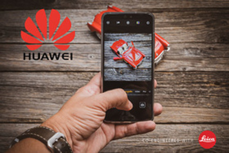 Fotíme s Huawei - video