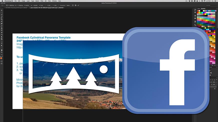 Panoramatické fotografie na Facebook