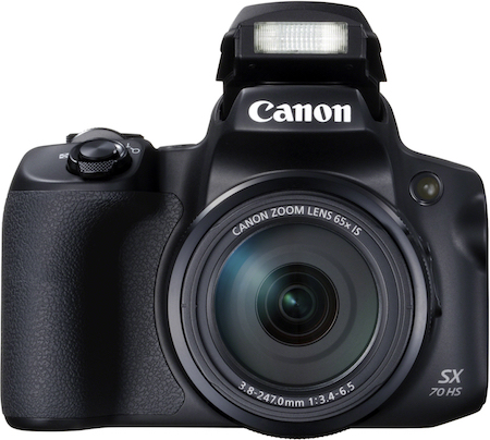Canon PowerShot SX70 HS: 65-násobný optický zoom so vzhľadom a ergonómiou digitálnej zrkadlovky v kompaktnom prevedení