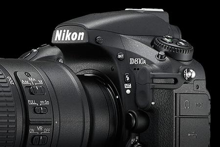 Nikon D810a a ďalšie novinky