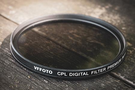 Polarizačný filter, štandardne i softvérovo