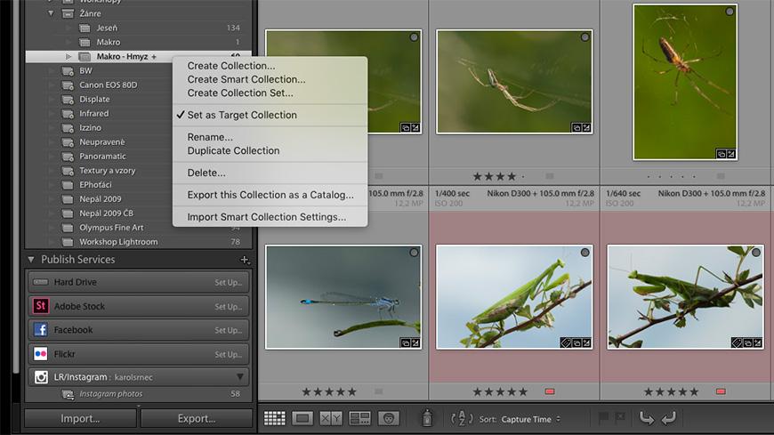 Adobe Lightroom CC - Target Collection