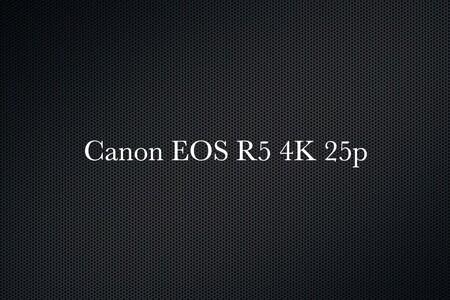 Canon EOS R5 4K 25p