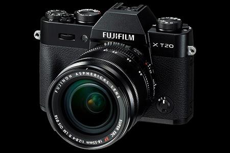 Fujifilm X-T20 + XF 18-55