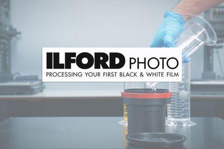 Ilford rýchlokurz ako vyvolať ČB film