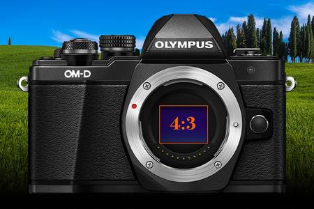 Olympus PEN & OM-D - formát záberu