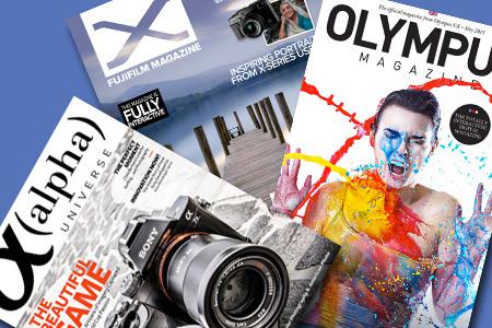 Elektronické časopisy pre priaznivcov bezzrkadloviek