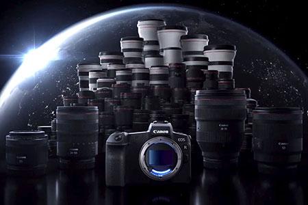 Z DSLR na Canon M a R
