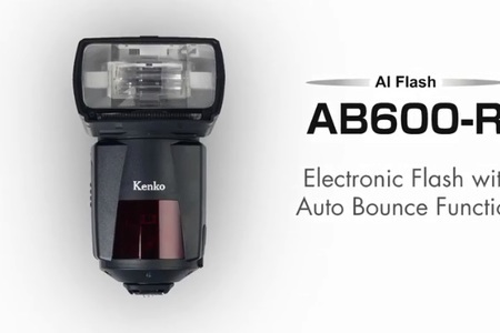 Kenko Professional Electronic Flash with Auto Bounce Function AB