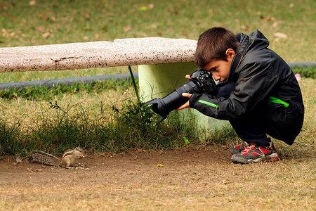 9 - ročný víťaz súťaže Wildlife Photographer Of The Year.
