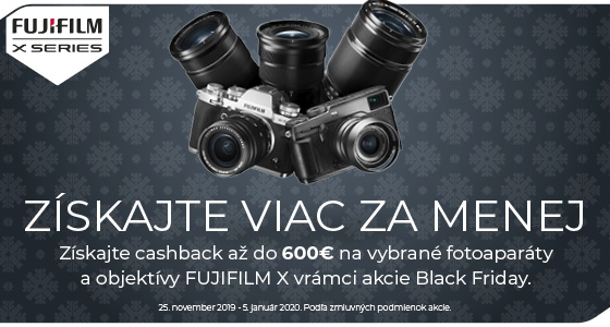 Fujifilm akcia Black Friday