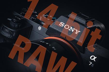 Sony A7 II - nový 14-bit nekomprimovaný RAW