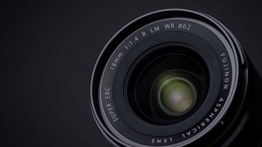 Fujifilm FUJINON XF18mm F1.4 R LM WR