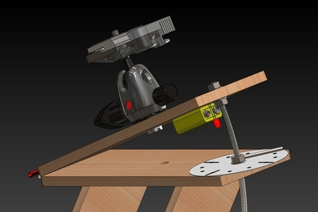 Pantový stolček - najlacnejšie kompenzovanie zemskej rotácie
