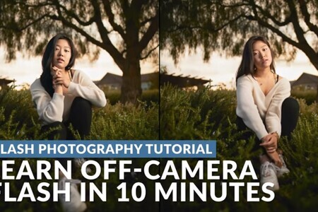 Learn Off-Camera Flash in 10 Minutes!