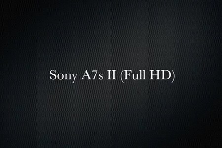 Sony A7s II (Full HD)