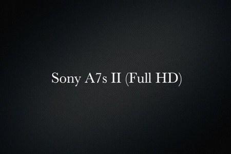 Sony A7s II (Full HD)